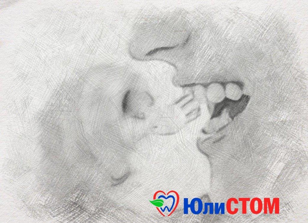 Чистим зубы и полость рта