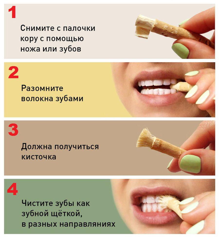 Инструкция по использованию мисвака