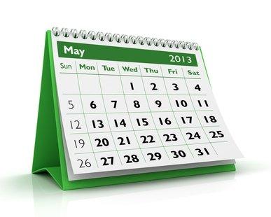 запись в календаре
